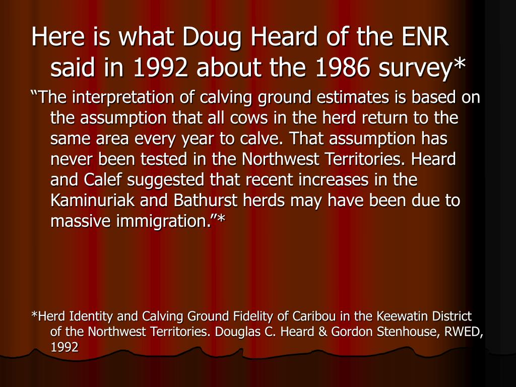 Here is what Doug Heard of the ENR said in 1992 about the 1986 survey*