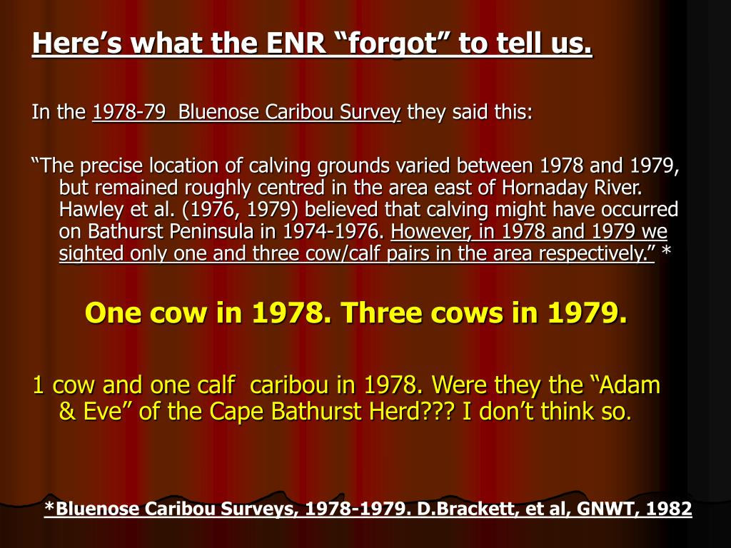 "Here's what the ENR ""forgot"" to tell us."