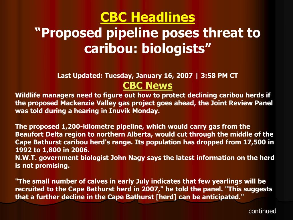 CBC Headlines