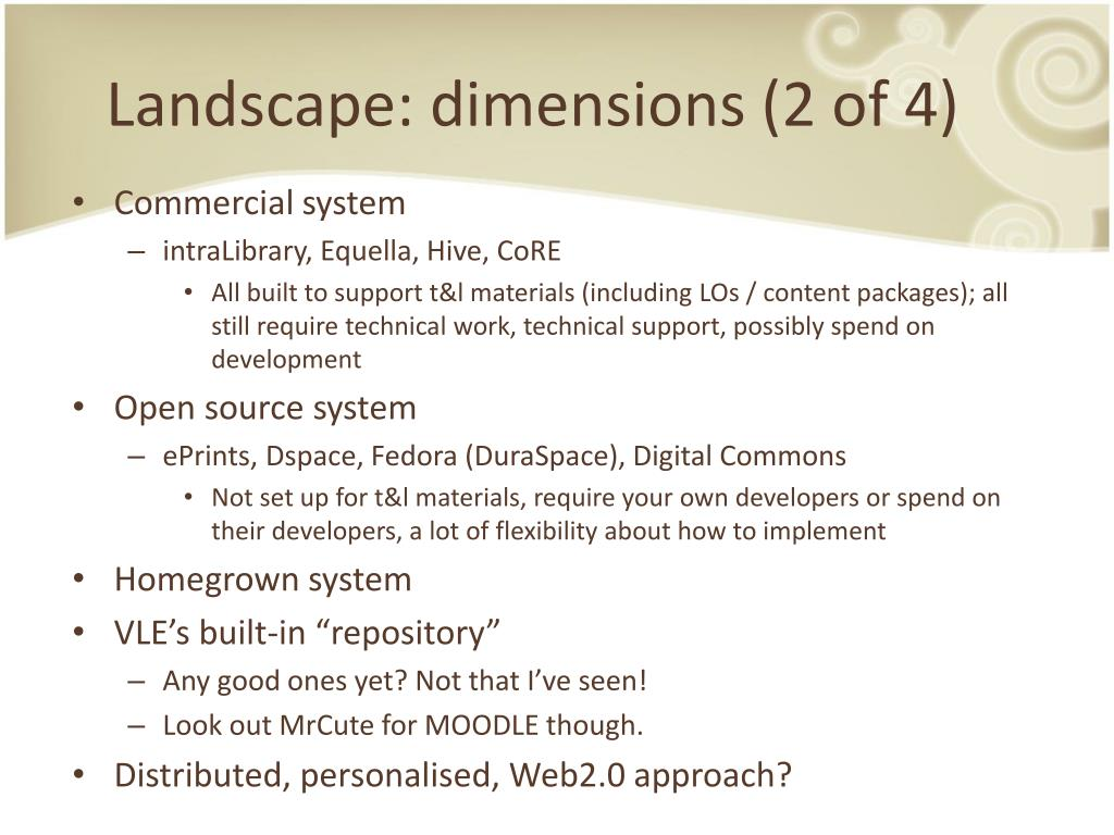 Landscape: dimensions (2 of 4)