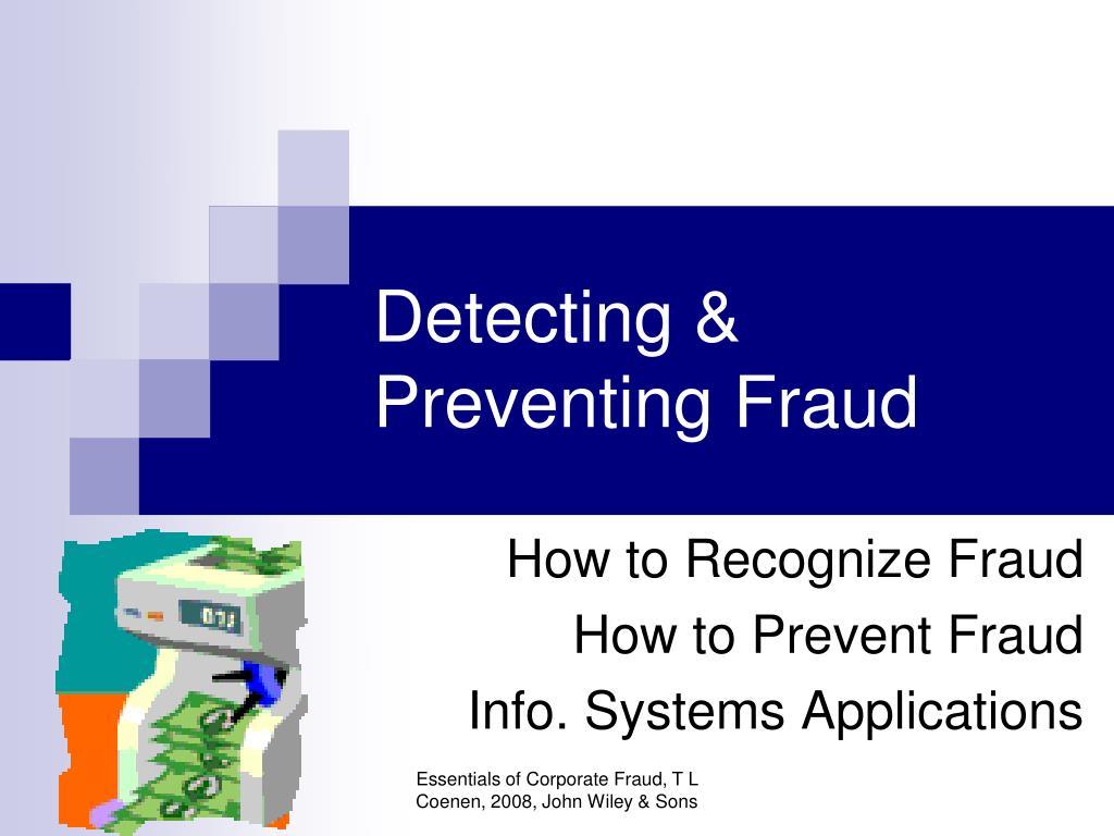 Detecting &