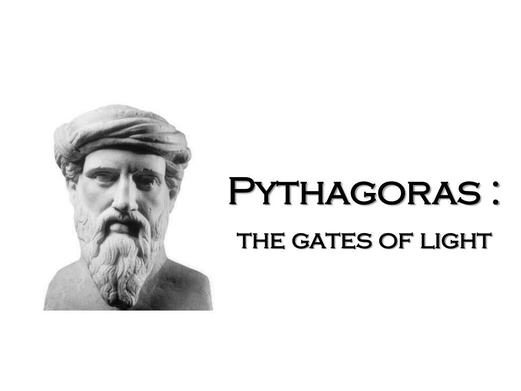 Pythagoras :