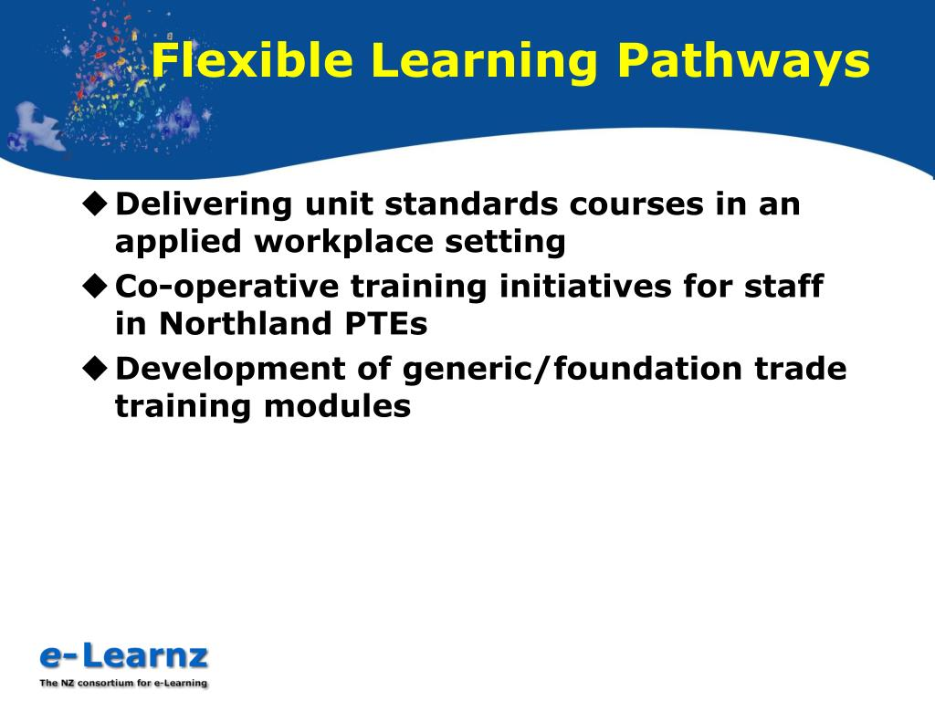 Flexible Learning Pathways