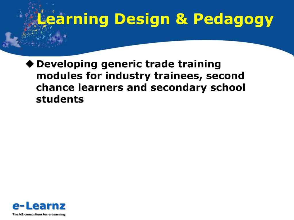 Learning Design & Pedagogy