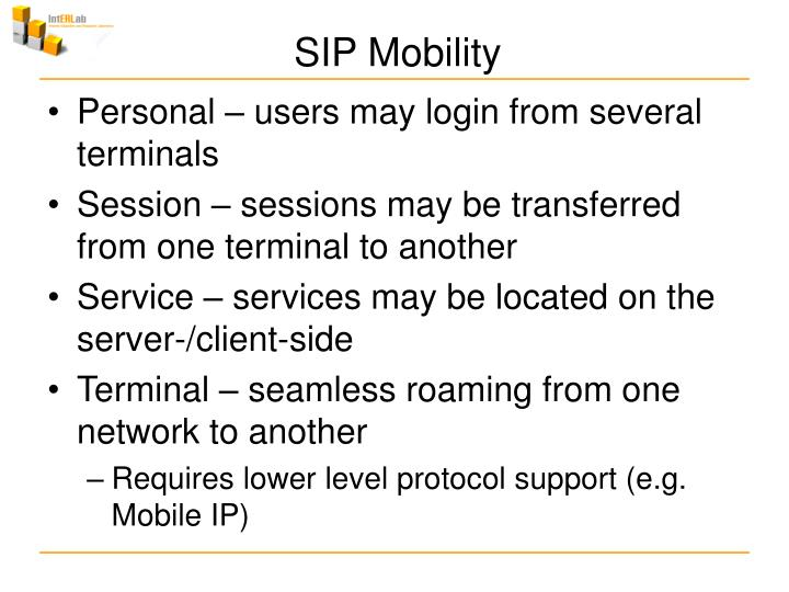 SIP Mobility