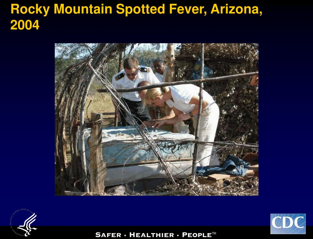 rocky mountain spotted fever Rocky mountain spotted fever is caused by the bacterium rickettsia rickettsii the bacterium is spread to humans through the bite of infected ticks, and so the.