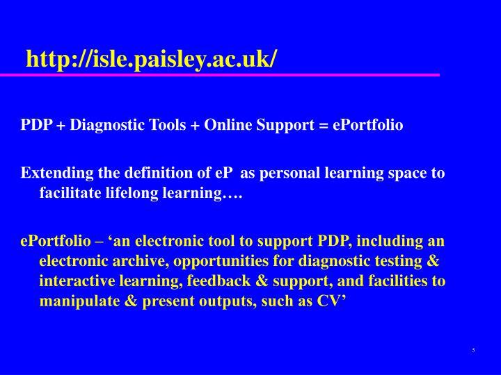 http://isle.paisley.ac.uk/