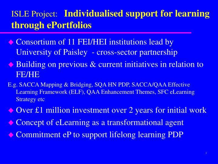 ISLE Project: