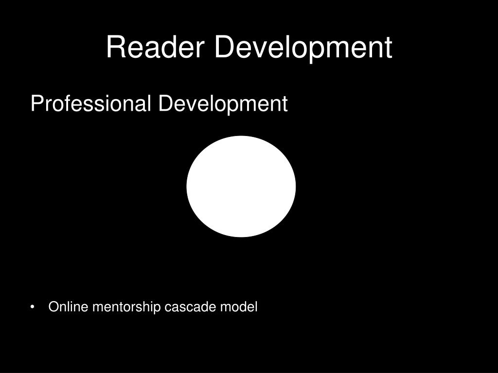 Reader Development
