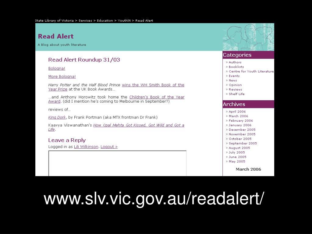 www.slv.vic.gov.au/readalert/