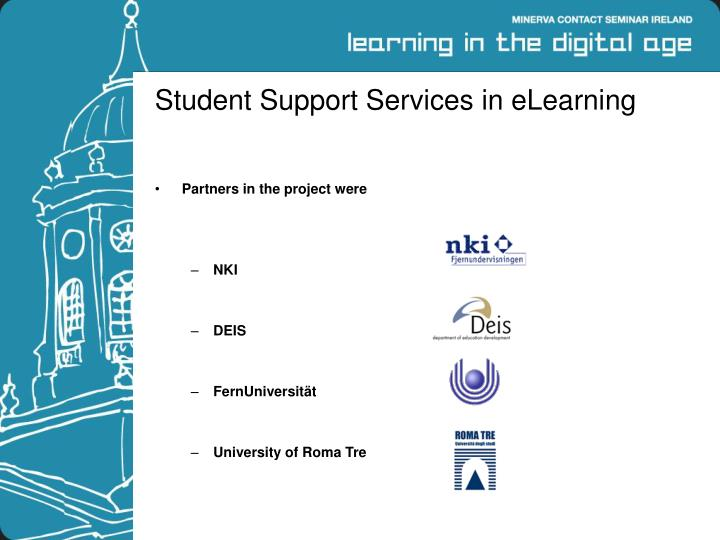 Student support services in elearning