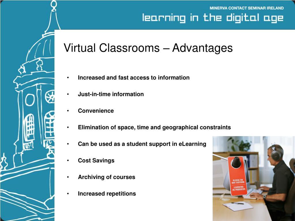 Virtual Classrooms – Advantages