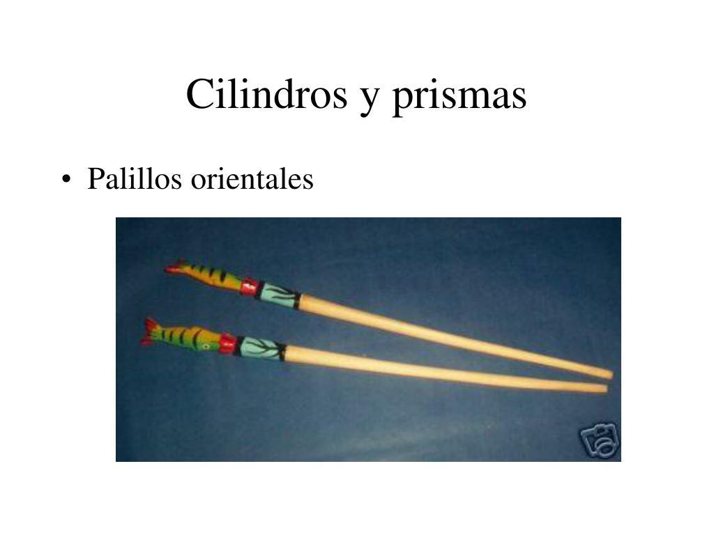 Cilindros y prismas