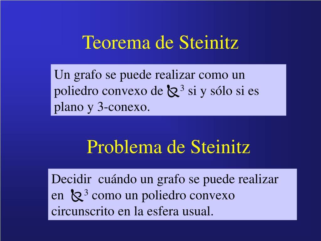 Teorema de Steinitz