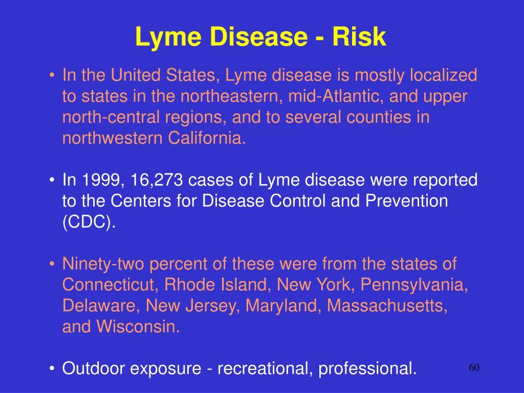 Lyme Disease - Risk