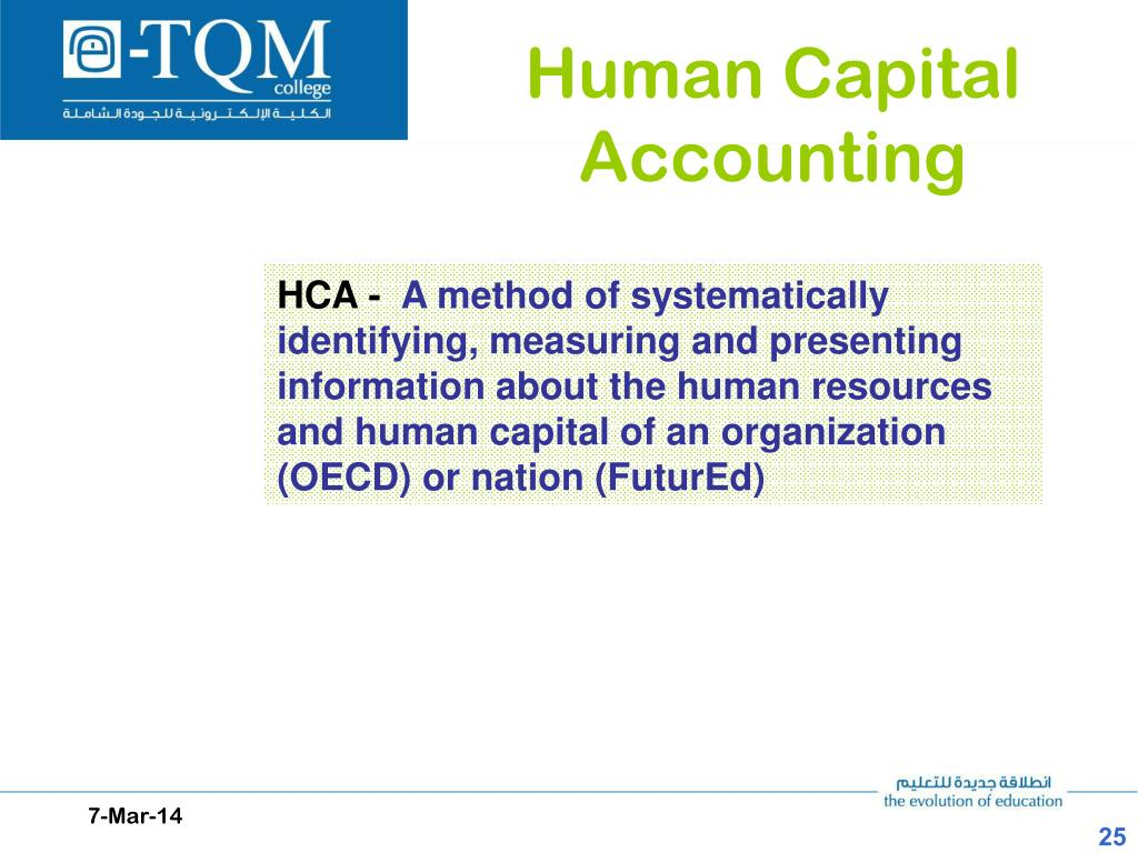 Human Capital Accounting