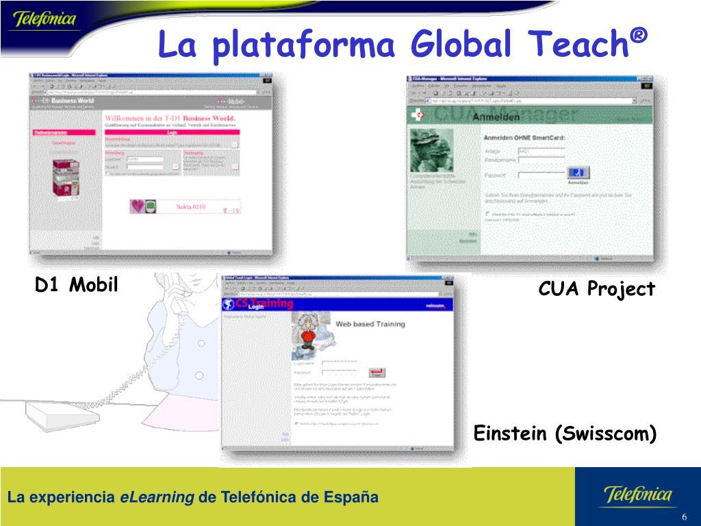 La plataforma Global Teach