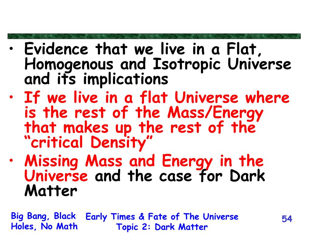 Evidence that we live in a Flat, Homogenous and Isotropic Universe and its implications