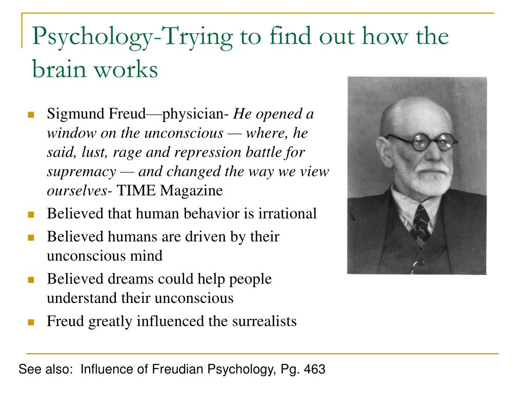 Psychology-Trying to find out how the brain works