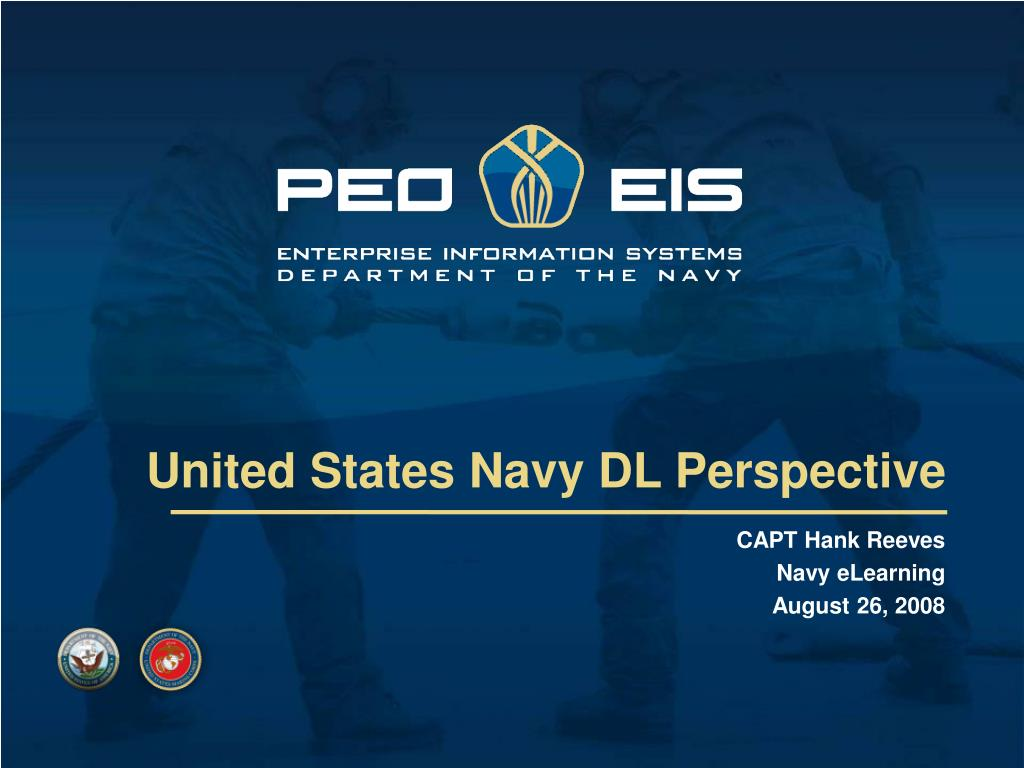 United States Navy DL Perspective