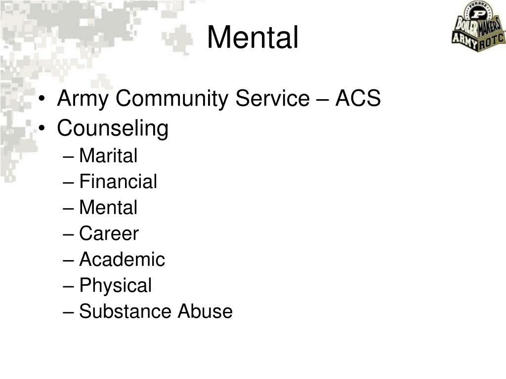 Army Community Service – ACS