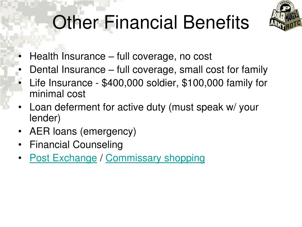 Health Insurance – full coverage, no cost