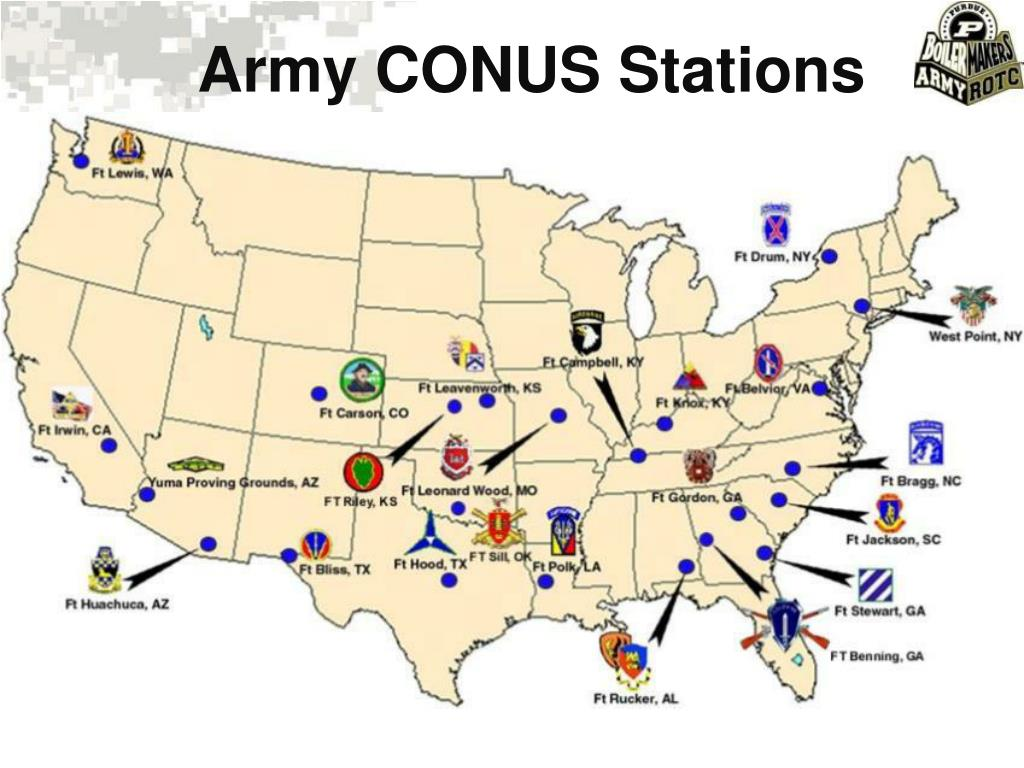 Army CONUS Stations