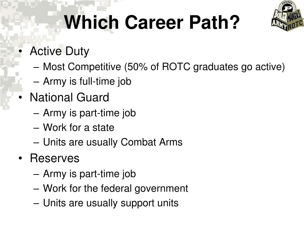 Which Career Path?