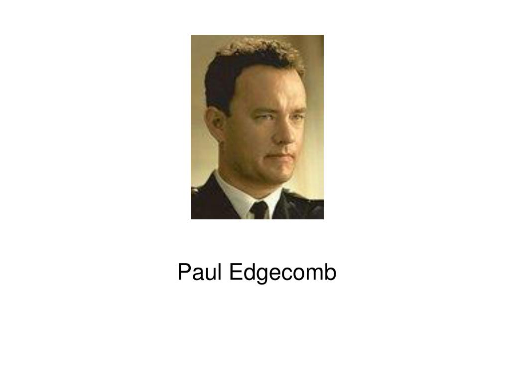 Paul Edgecomb