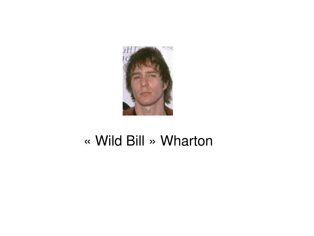 «Wild Bill» Wharton