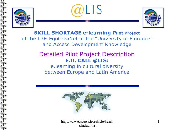 SKILL SHORTAGE e-learning P