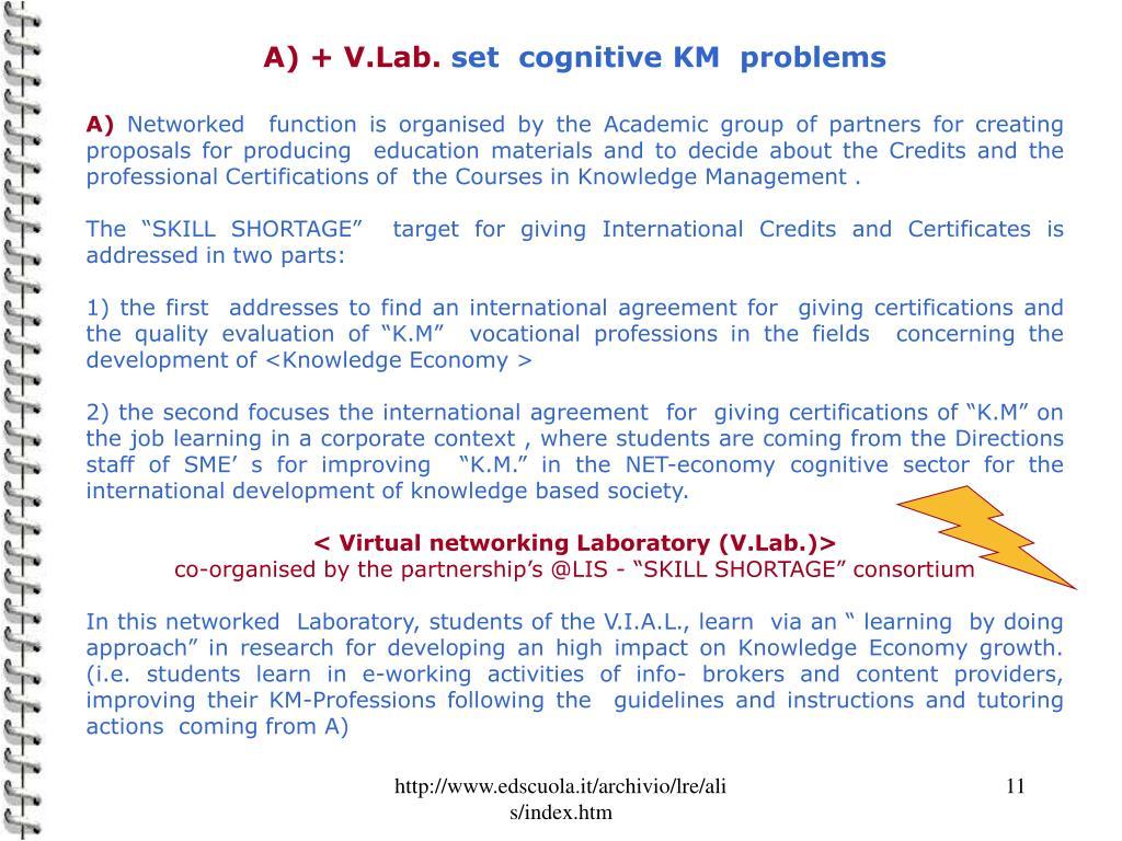 A) + V.Lab.