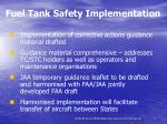 fuel tank safety implementation3