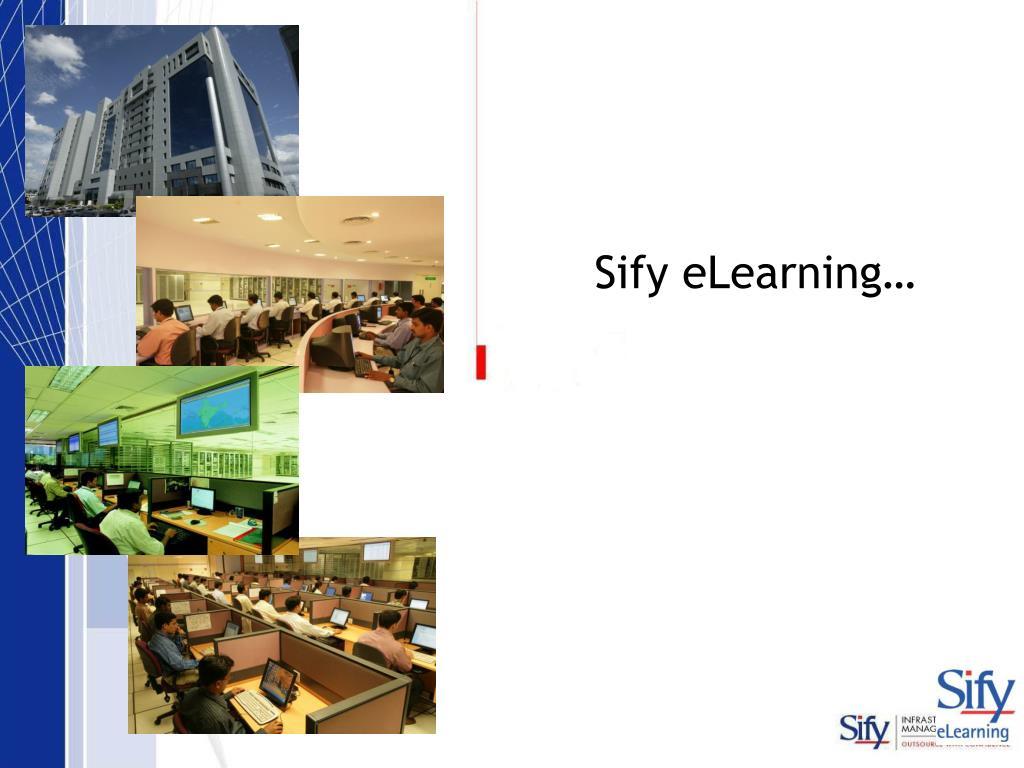 Sify eLearning…