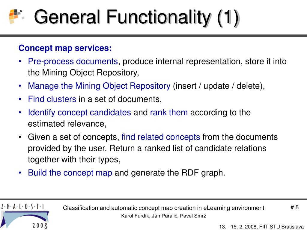 General Functionality (1)