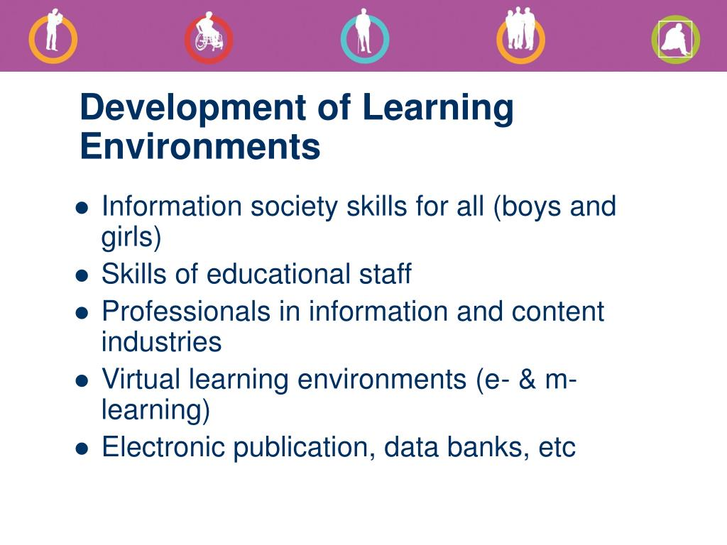 Development of Learning Environments