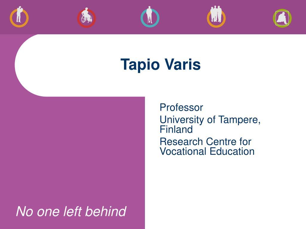 Tapio Varis