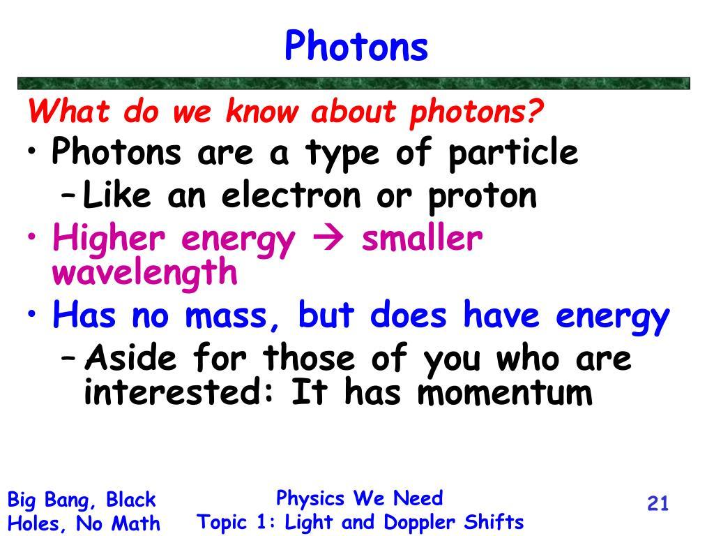 Photons