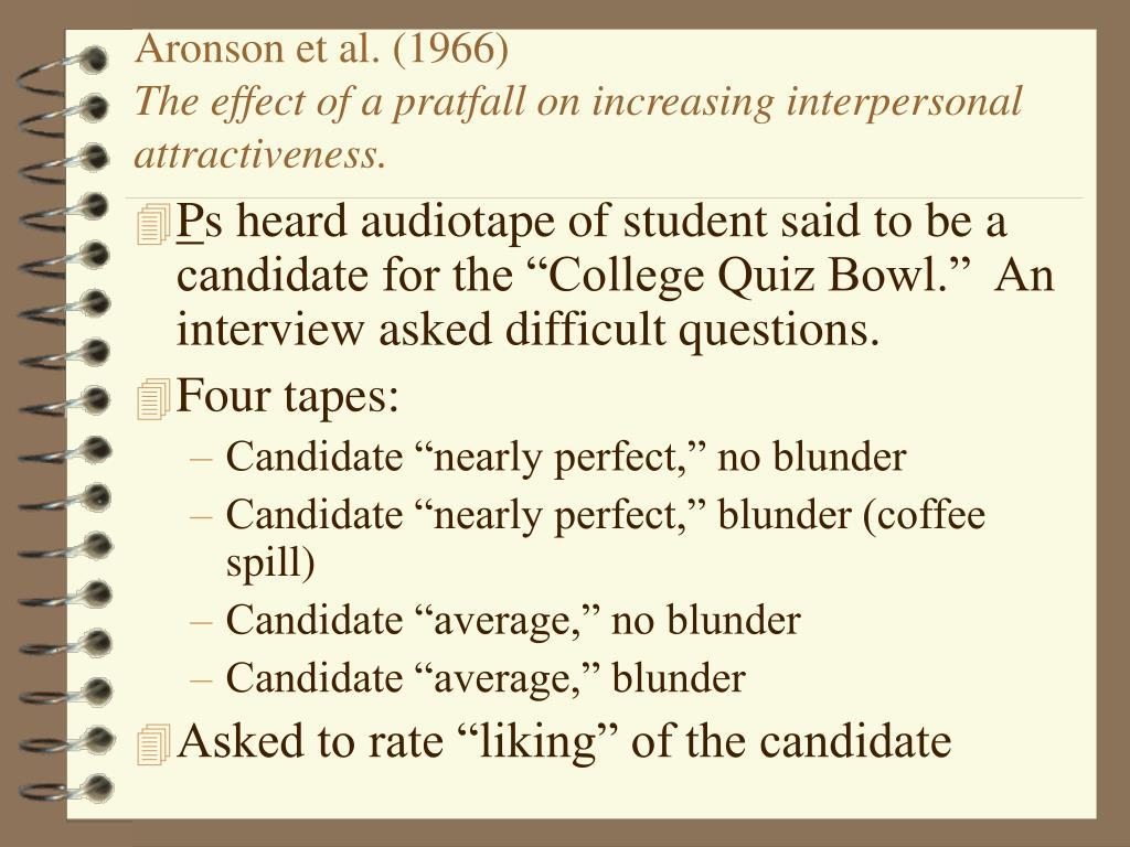 Aronson et al. (1966)
