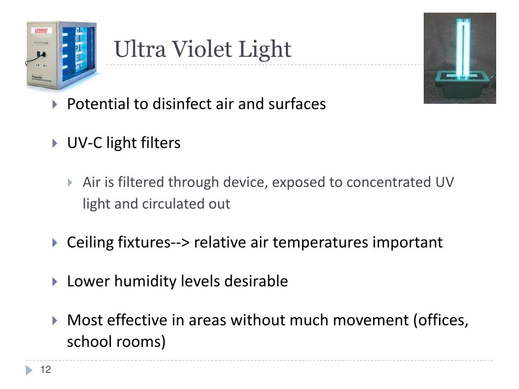 Ultra Violet Light
