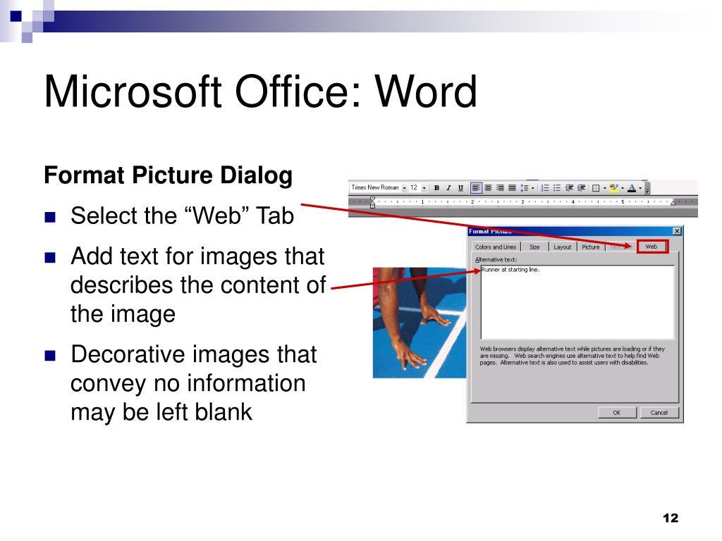 Microsoft Office: Word