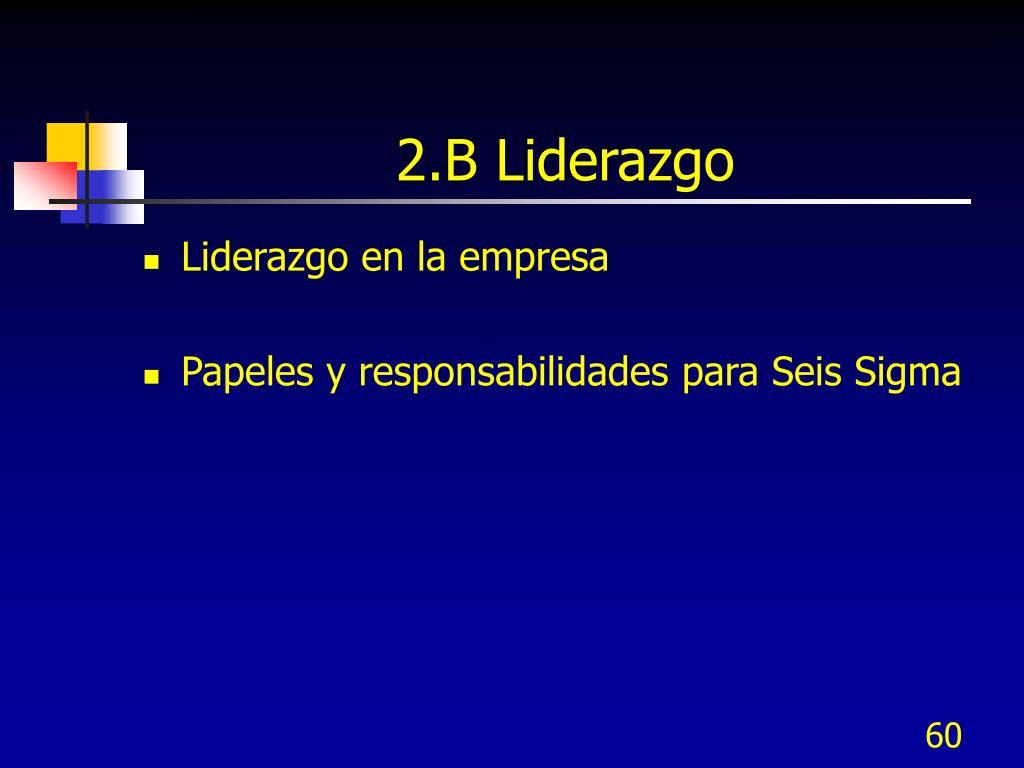 2.B Liderazgo