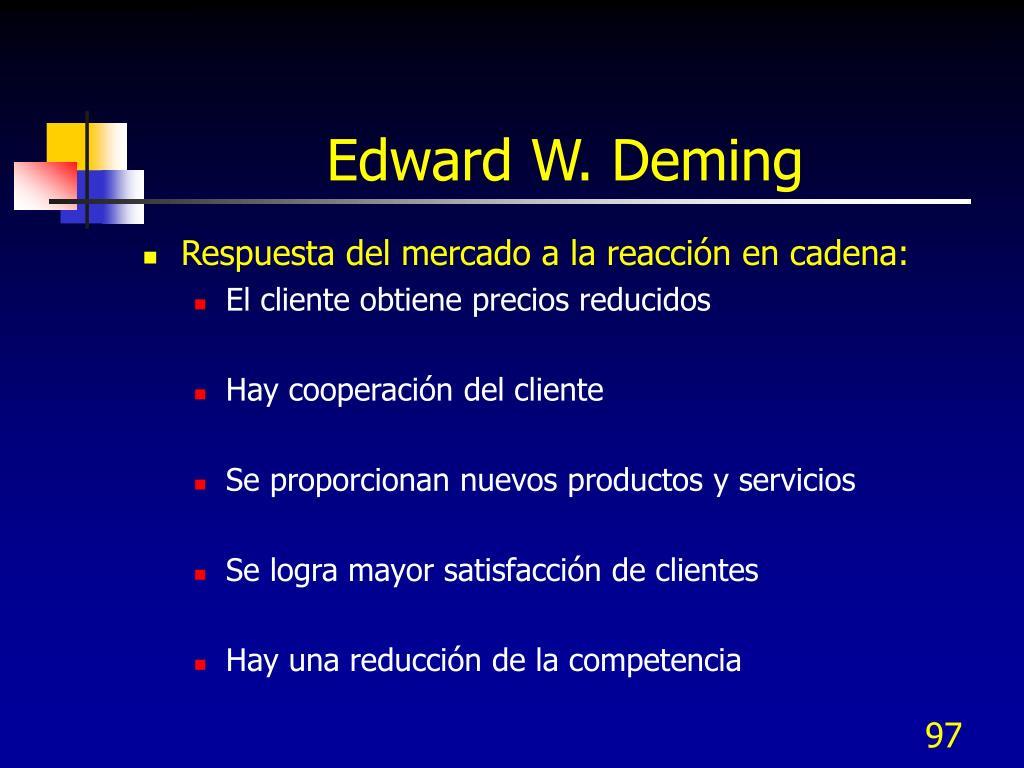 Edward W. Deming