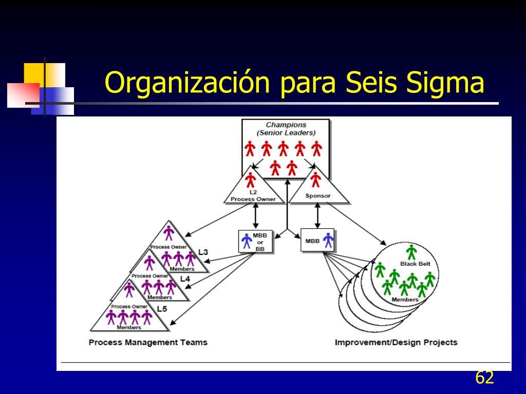 Organización para Seis Sigma