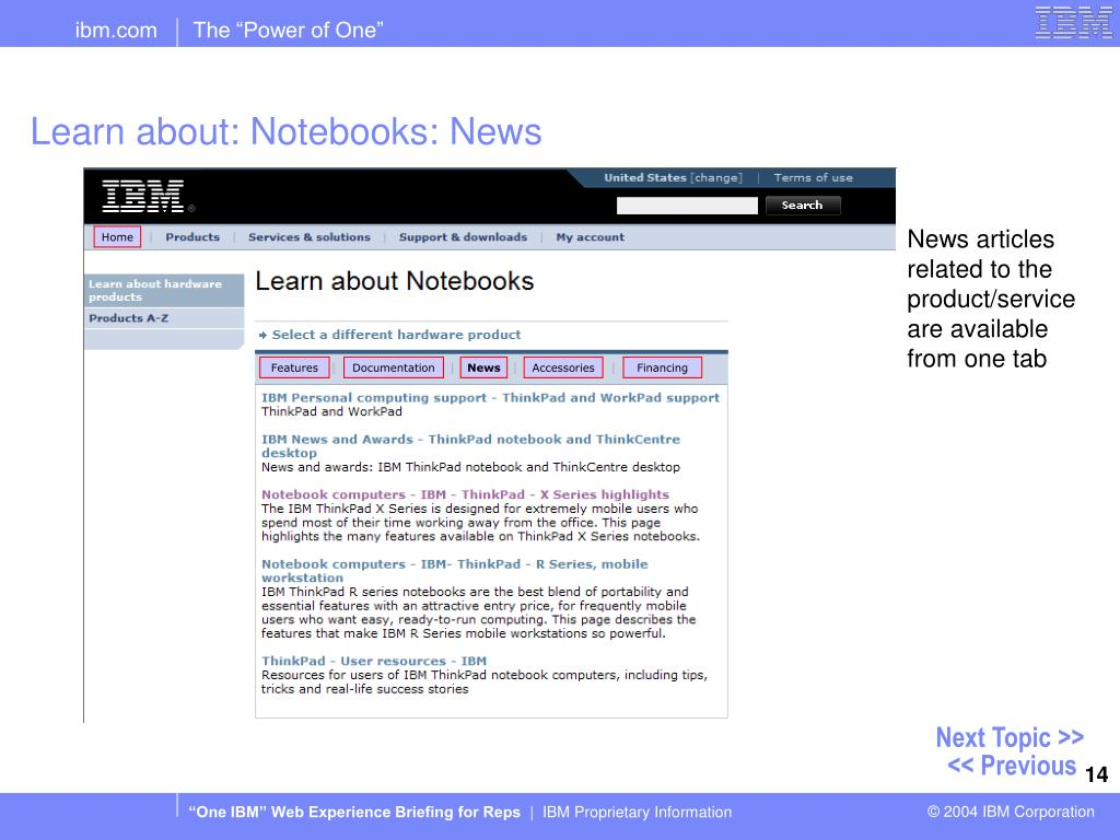 Learn about: Notebooks: News