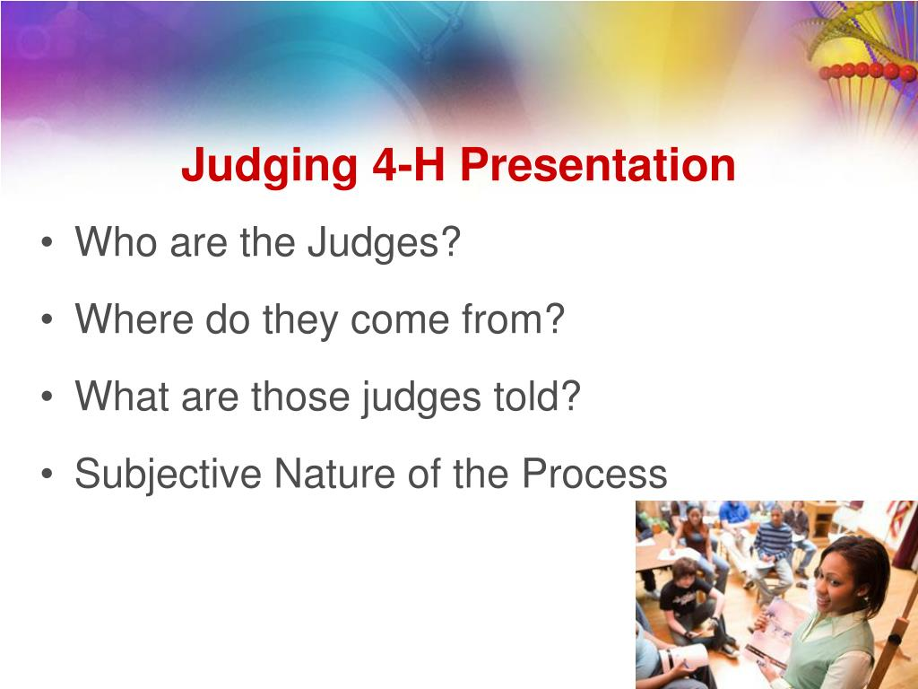 Who are the Judges?