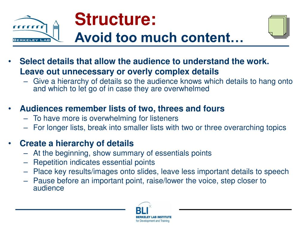 Structure: