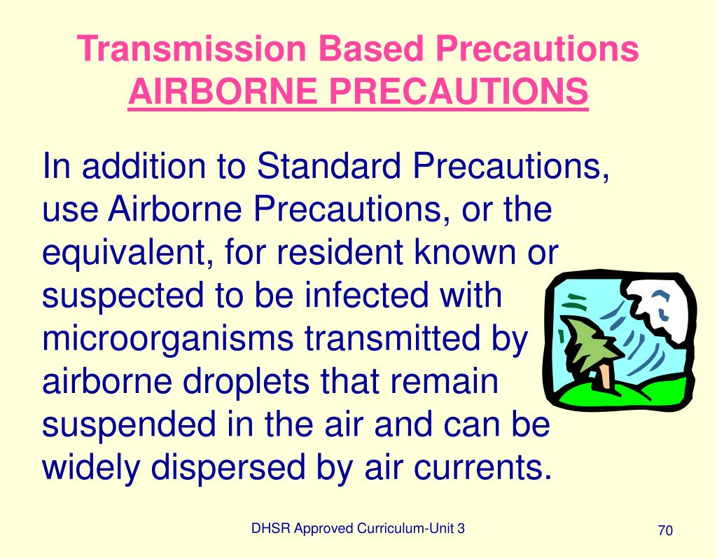 Transmission Based Precautions