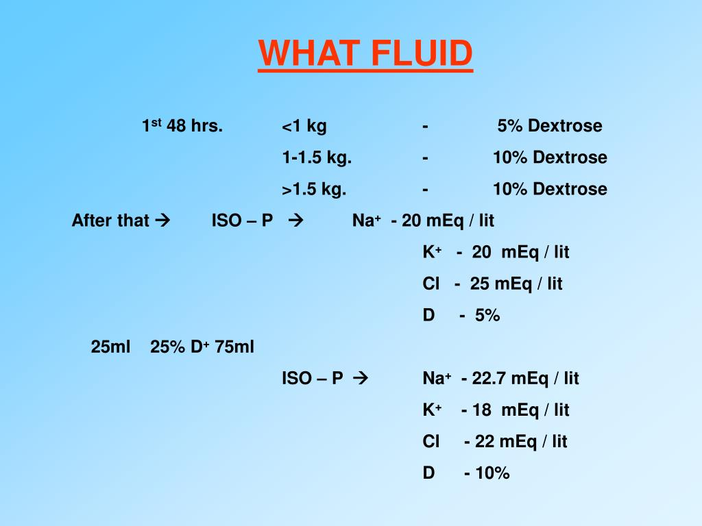 WHAT FLUID