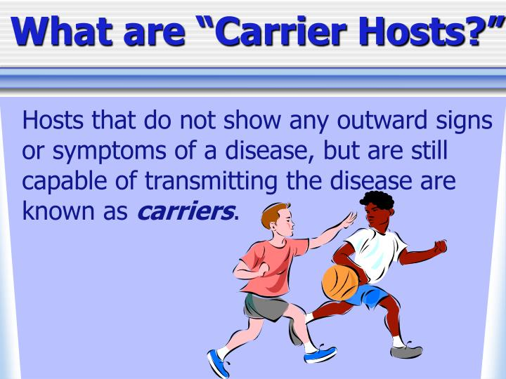 "What are ""Carrier Hosts?"""